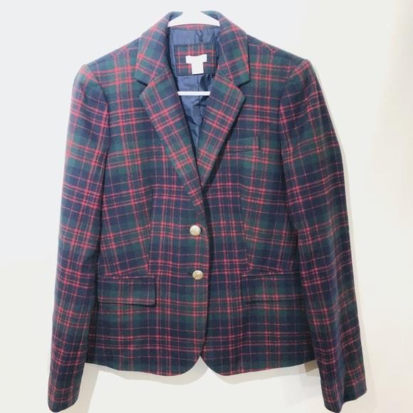 J. Crew Factory Jackets & Blazers - NWOT J. Crew Factory Patterned Schoolboy Blazer, 6